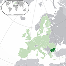 bulgaristan harita