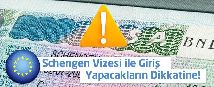 Bulgaristan'a Schengen vizesi ile giriş yapacakların dikkatine!